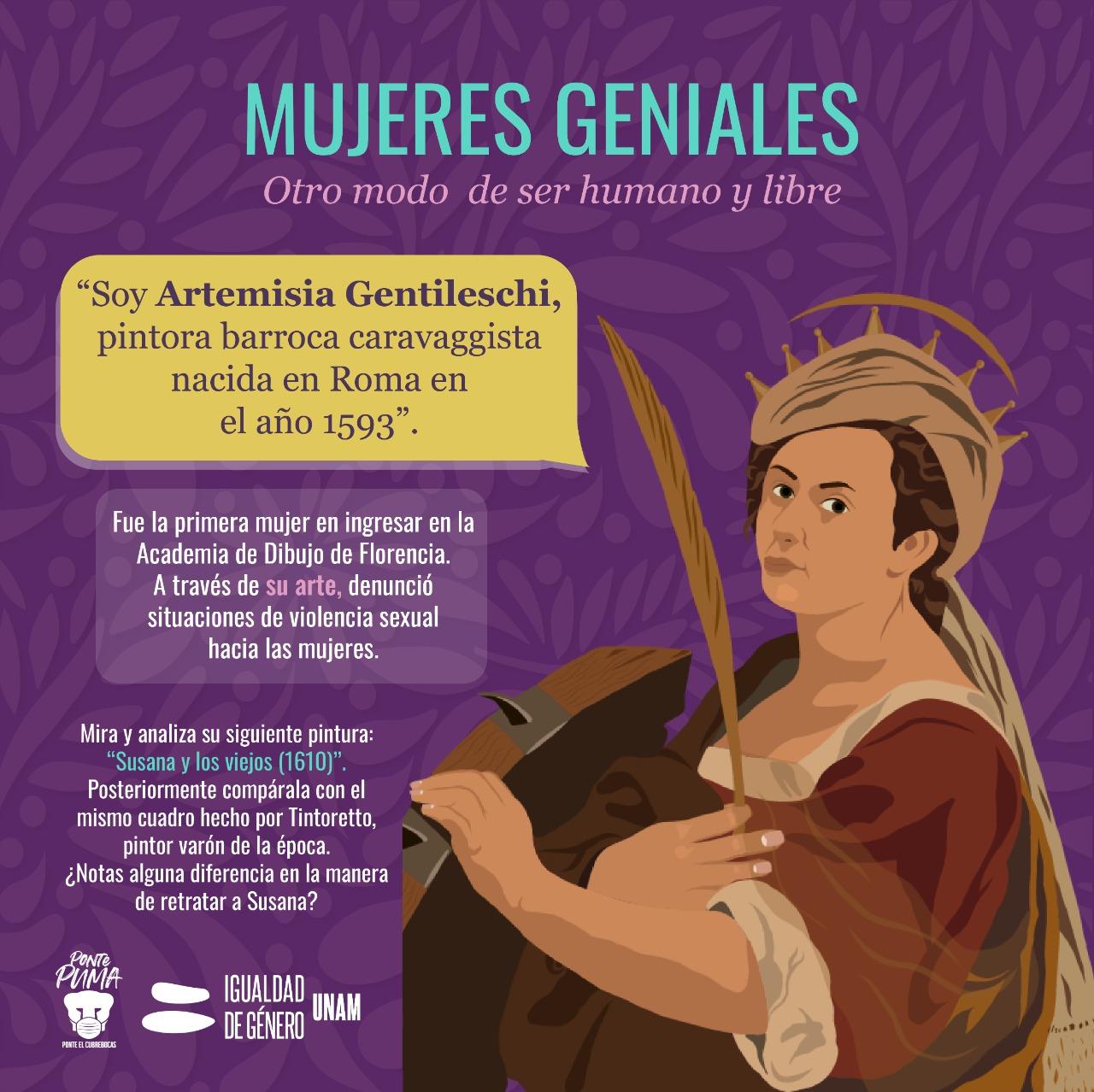 Artemisia Gentileschi UNAM CIGU