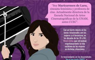 Maricarmen de Lara cineasta feminista CIGU UNAM