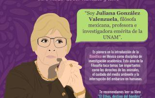 Juliana González Bioética CIGU UNAM