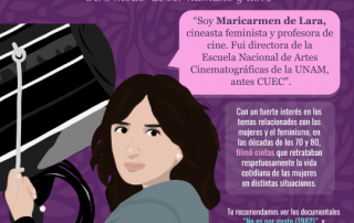 Maricarmen de Lara cineasta feminista