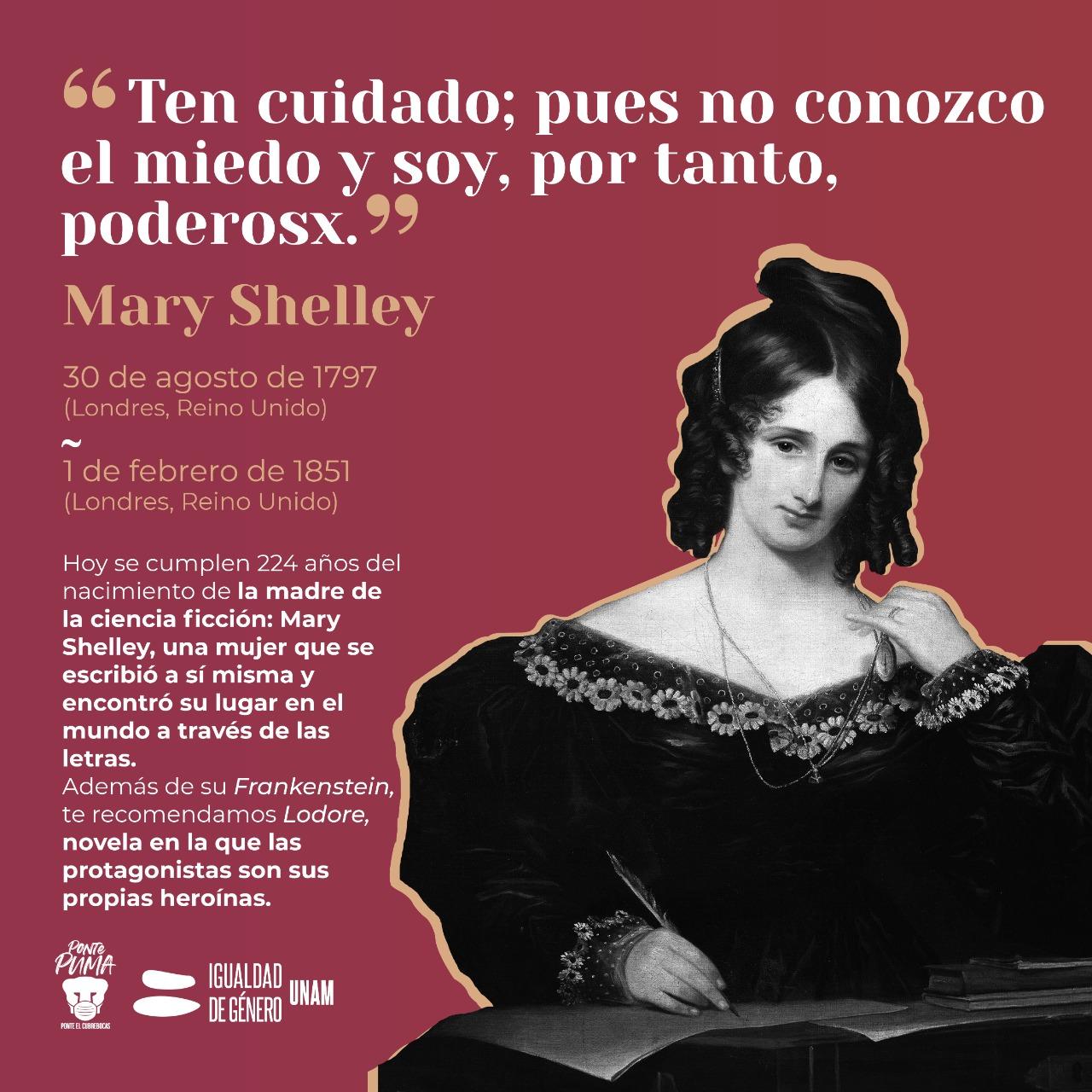 Mary Shelley Coordinación Género UNAM