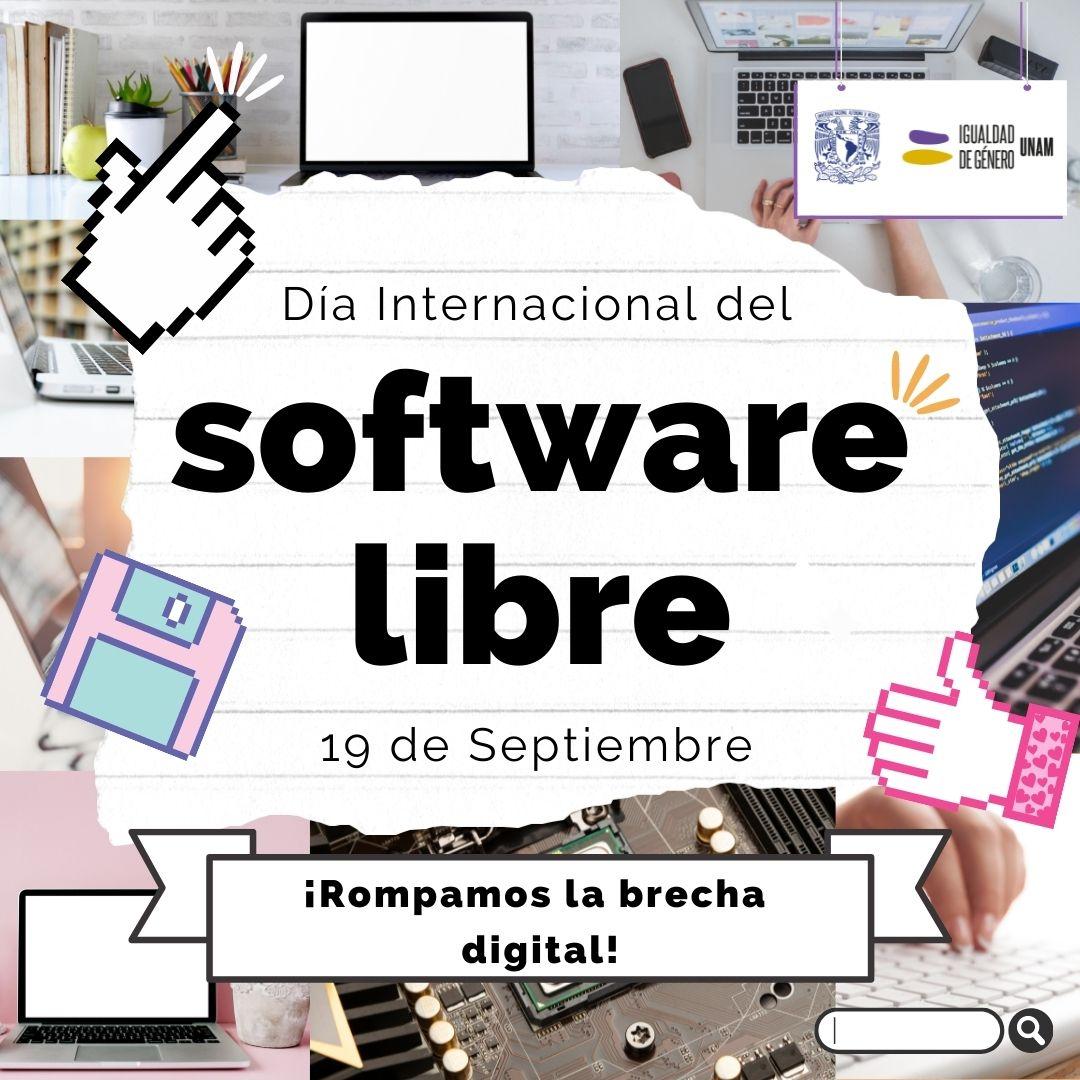 Día internacional del software libre CIGU UNAM