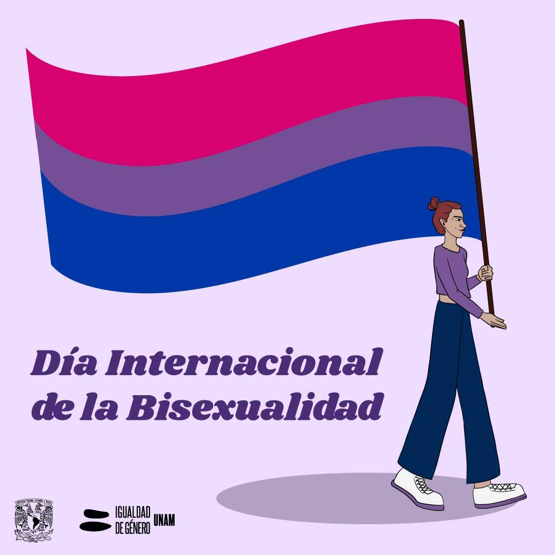 Día Internacional dela Bisexualidad CIGU UNAM